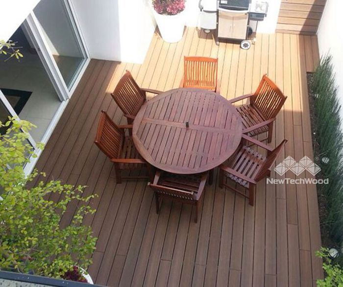 Durable, elegant and comfort composite deck